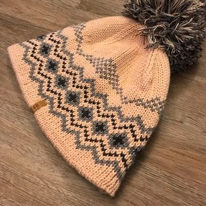 Timberland Winter Hat Womens Pink